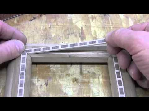 Wood Inlay Banding - Cut, Fit, & Install - YouTube