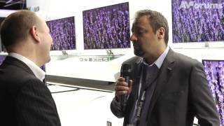 Panasonic UK interview about ZT65, VT65 Plasma, Smart TV and 4K OLED TV becoming a reality