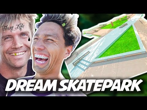 AMSKATER'S GIANT SKATEPARK IS INSANE!!!