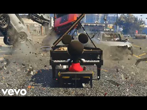 Mickey Goes To Los Santos (GTA 5 Official Music Video)