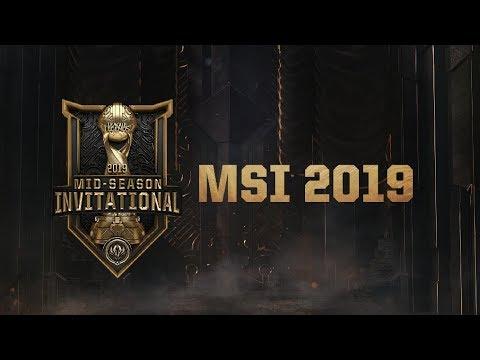 MSI 2019 Yarı Finali: SK Telecom ( SKT ) vs G2 Esports ( G2 )