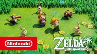 The Legend of Zelda: Link's Awakening – Overview trailer (Nintendo Switch)