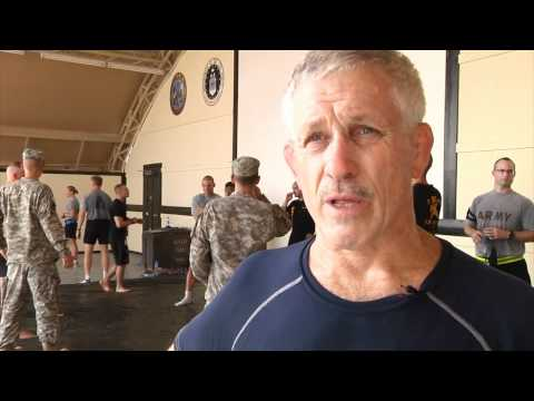 U.S. Army combatives training with J Robinson (Raw footage) Image 1