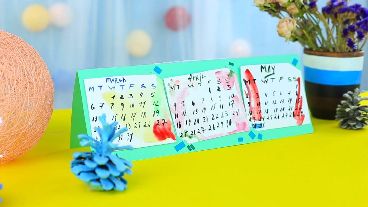 Сделать календарь своими рук 21