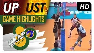 UAAP 80 WV: UP vs. UST | Game Highlights | March 17, 2018