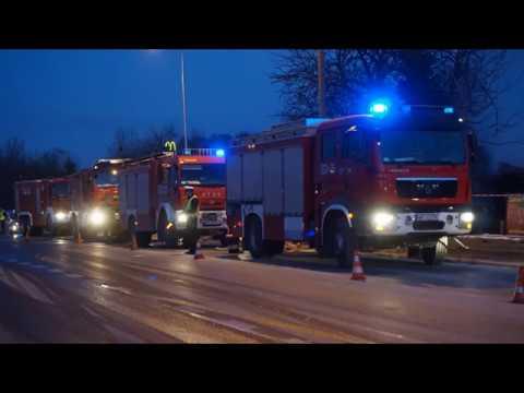 Pożar Drewnianego Budynku Przy Ul. Kozienickiej W Radomiu