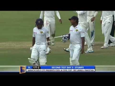 Sri Lanka v Pakistan 2nd Test - Day Three: Highlights