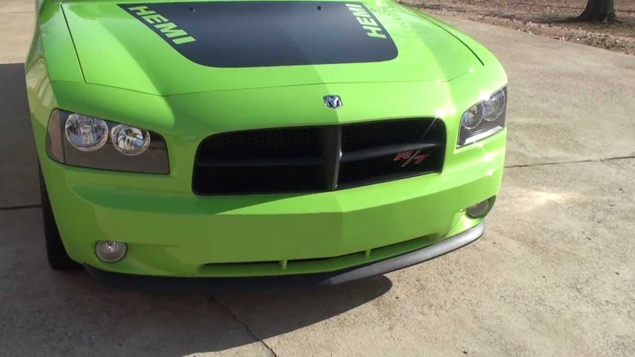 2007 dodge charger rt daytona sublime green for sale see