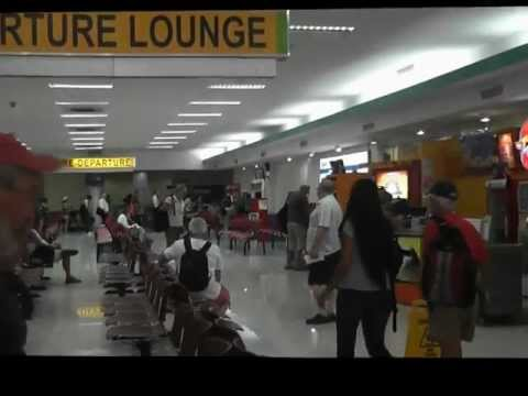 Departures area Clark Airport, Philippines
