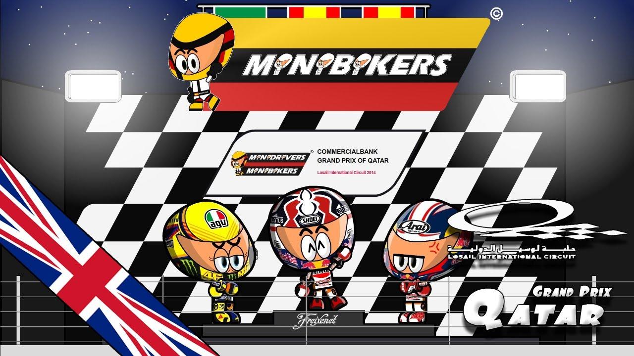 [ENGLISH] MiniBikers - Chapter 5x01 - 2014 Qatar Grand Prix - YouTube