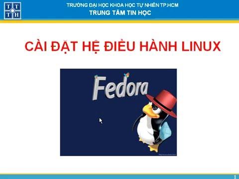 Hướng dẫn cài đặt Hệ điều Hành Linux | huong dan cai dat linux
