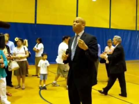 Cory Booker Steals The Show At Bergen County Convention
