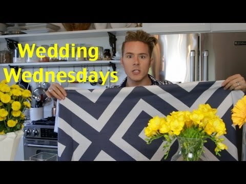 0 Wedding Wednesday: Fabric &amp; Flowers