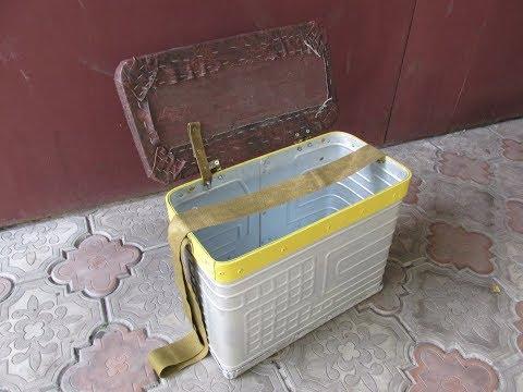 из морозилки рыбацкий ящик
