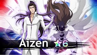 Aizen (Hogyoku) 6? gameplay on Byakuya Raid [Bleach Brave Souls]