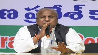 T Congress Leaders Press Meet From Gandhi Bhavan  |  ABN Telugu