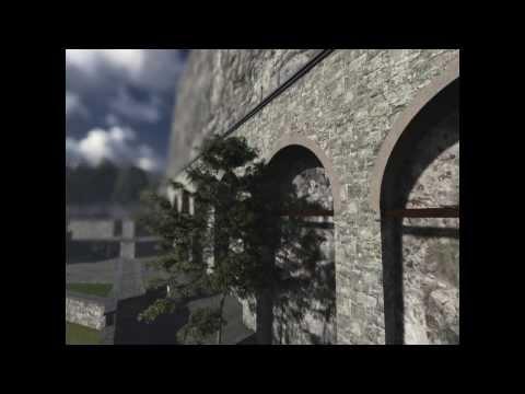 3D animation Sumela Monastery