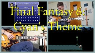 Final Fantasy VI - Cyan's Theme (Solo Guitar) | Live Cover by EXTRA LIVES
