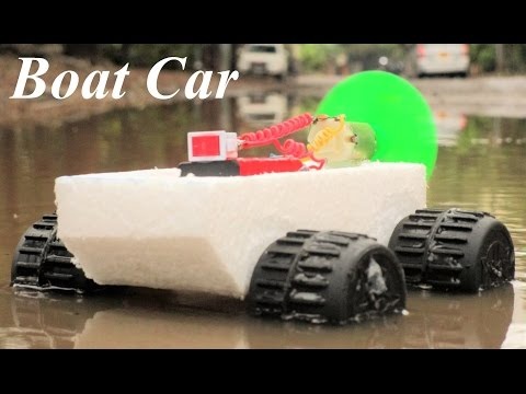 How To Make a Car - Boat Car - Very Simple