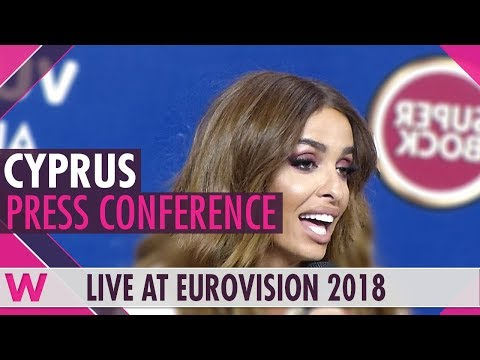 "Cyprus Press Conference: Eleni Foureira ""Fuego"" @ Eurovision 2018 | wiwibloggs"