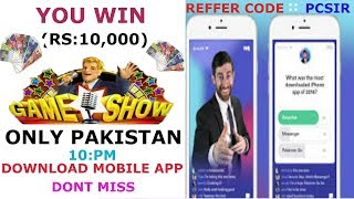 You can win REAL MONEY playing this Game trivia live game show 10,000 DAILY