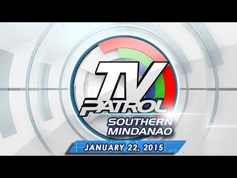 Tv Patrol Southern Mindanao - January 22, 2015 video