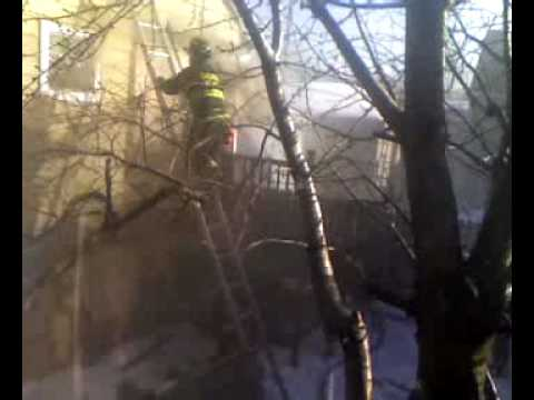 Backdraft caught on tape (Chicago Fire Department) Video