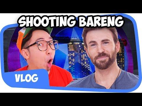 SHOOTING BERSAMA CAPTAIN AMERICA di SINGAPORE