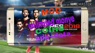 How to hack pro 2018 pro evolution soccer v2.2.0[Android] 4.73 MB