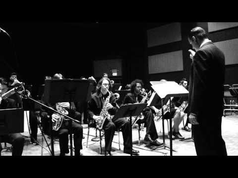 Los Medanos College Jazz Studio Band  'You Stepped Out of A Dream' May 14, 2014