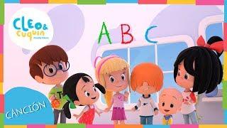 EL ALFABETO | ABC ABECEDARIO. Cleo & Cuquin I Familia Telerin. Canciones Infantiles para niños