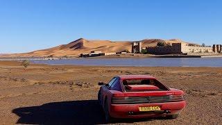 Ferrari Testarossa to the Sahara. 2000mile adventure to the Sahara desert