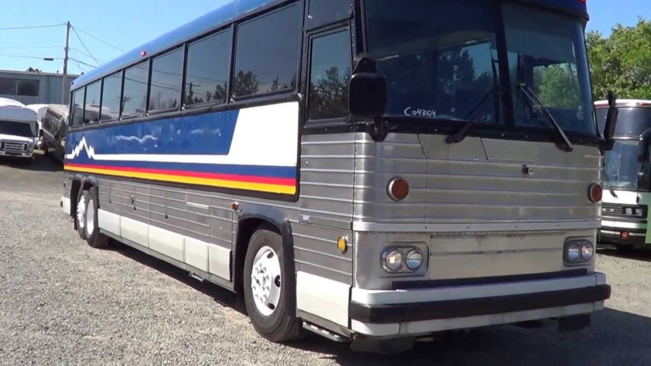 Northwest Bus Sales 1984 Mci Mc9 47 Passenger Motor