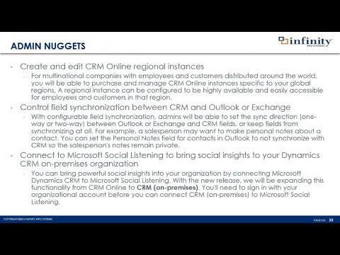 The Best CRM Just Got Better! - Microsoft Dynamics CRM 2015