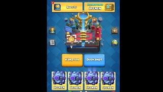Mega Super Magical Chest Opening | Legendary Cards | Clash Royale
