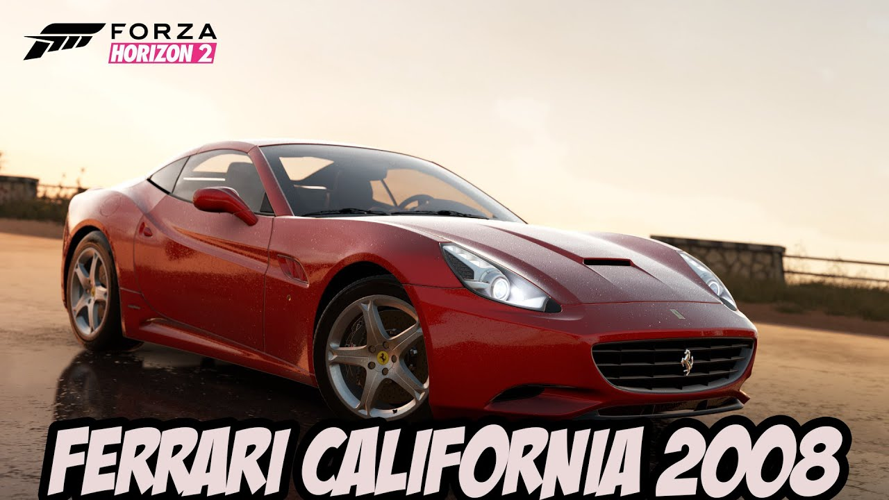 forza horizon 2 2 ferrari california 2008 gameplay no xbox 360 youtube. Black Bedroom Furniture Sets. Home Design Ideas