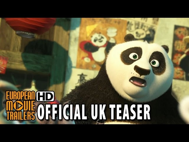 Kung Fu Panda 3 Official UK Teaser Trailer (2016) HD