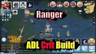 Ragnarok M Eternal Love Ranger ADL Crit Build