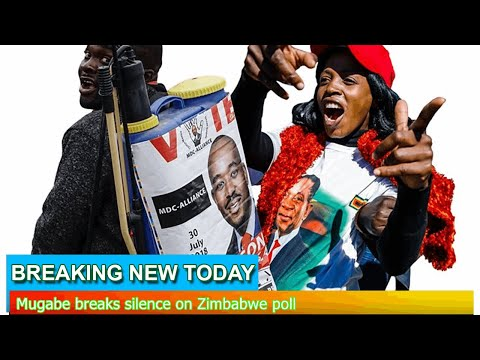 Breaking News - Mugabe breaks silence on Zimbabwe poll