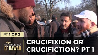 Video: Jesus' Crucifixion or Crucifiction? - Hamza Myatt 1/2