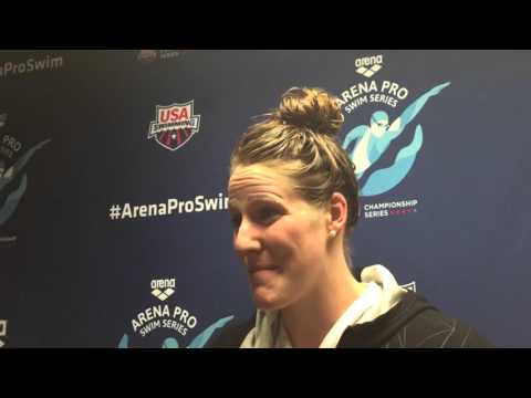 Missy Franklin Is Beyond Ecstatic With A 2:07 200 Back