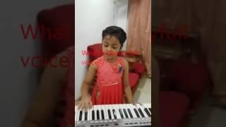 Mere Rashke Qamar, by Little Baby girl ....