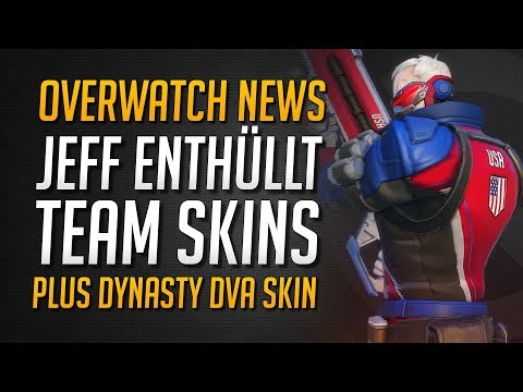 OVERWATCH TEAM SKINS | Seoul Dynasty Dva Skin | Neues Dev Video ★ Overwatch Deutsch