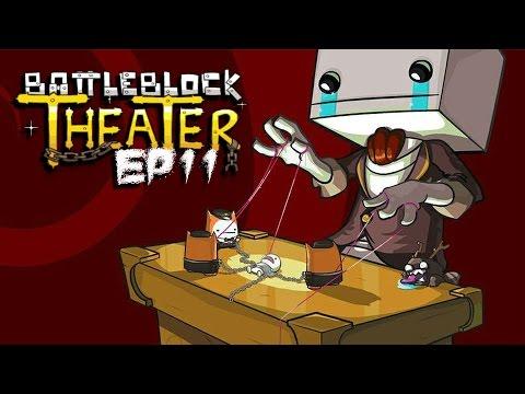 BattleBlock Theater! - Co-op w/ H2O Delirious (Robot Rock!) (EP11)