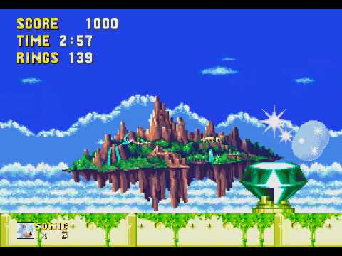 Super Sonic vs Super Metal Sonic (Sonic 3 & Knuckles Impossible Duel)