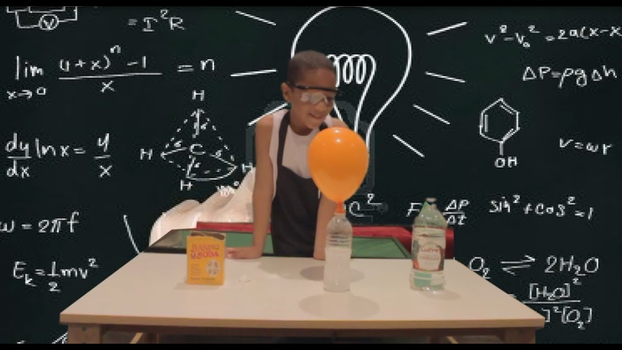 the baking soda and vinegar and balloon science experiment youtube. Black Bedroom Furniture Sets. Home Design Ideas