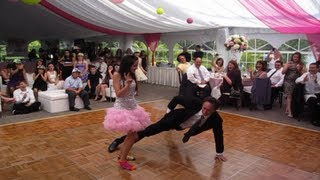 Best Father Daughter Dance Ever - Hip Hop at Bat Mitzvah