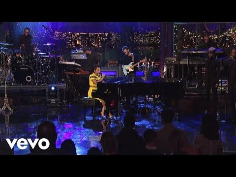Alicia Keys - Listen To Your Heart (Live on Letterman)