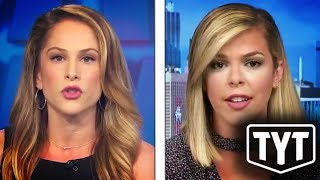 Ana Kasparian Drops Mic On Right-Wing Pundit