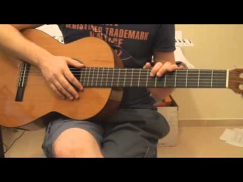 How To Play Hangover - Flo Rida Ft  Taio Cruz On Guitar Tutorial video